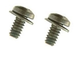 1967 - 1968 Camaro Glove Box Door Hinge Screws, Pair