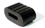 1967 - 1969 Camaro Glove Box Door Arm Bumper Stopper, Rubber, Rectangular