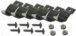 1969 Camaro Dash Pad Clips and Screw Set