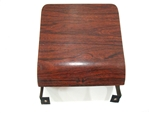 1969 Rosewood / Cherrywood Woodgrain Dash Ash Tray Assembly, Original GM Used