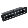 1970 - 1978 Camaro Center Dash Air Vent Duct Outlet Assembly, 3963781