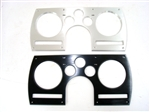 1982 - 1989 Instrument Cluster Dash Gauge Panel Bezel, Billet Aluminum