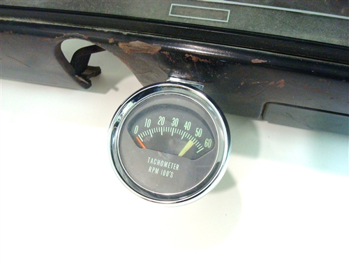 1966 chevelle tach and gauge dash assembly original gm used rh camarocentral com