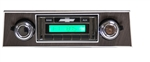 1967 - 1968 USA-230 Camaro Radio with AM/FM Stereo, Auxiliary Input, with Walnut Bezel