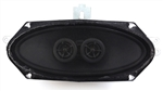 1967 - 1969 Camaro Center Dash Stereo Speakers, Dual Voice Coil (DVC), without Factory Air