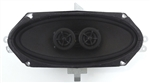 1970 - 1981 Camaro Center Dash Stereo Speakers, Dual Voice Coil (DVC), without Factory Air