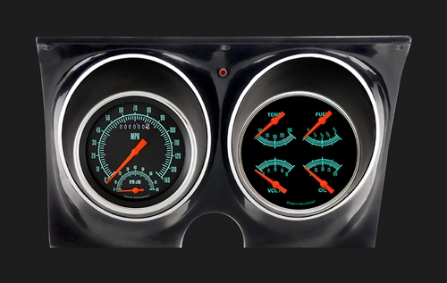 1967 - 1968 Dash Instrument Cluster Housing with Gauges (G-Stock), Custom  OE Style