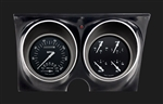 1967 - 1968 Dash Instrument Cluster Housing with Black Gauges, Custom OE Style