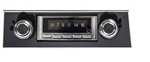1967 - 1968 USA-740 Camaro Radio with Bluetooth, AM/FM Stereo, USB, CD Control, Auxiliary Input, with Black Bezel