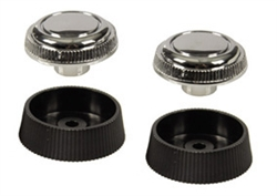 1967 - 1968 Camaro Radio Knobs Set for Stereo Option