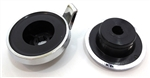 1971 - 1978 Camaro Radio Tuner Back Filler Knobs Set, Pair
