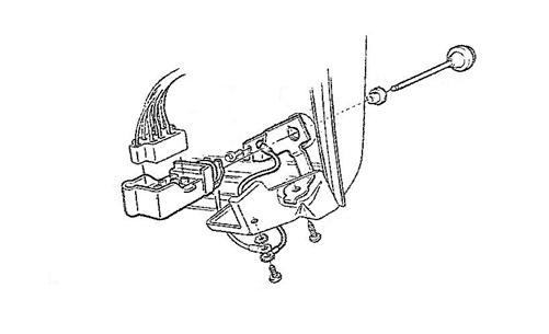 1969 camaro dash headlight switch and wiper switch ground strap plate  3937657