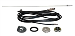 1969 Radio Antenna Kit, Rear Quarter Panel Mounting, AM-FM