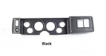 1979 - 1981 Camaro Custom Dash Instrument Cluster Housing with 6 Holes, Choice of Finish