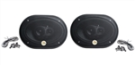 Camaro Rear Deck Speakers Set, 6 x 9 Inch