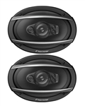 Pioneer Camaro Rear Deck Speakers Set, 6 x 9 Inch, Pair