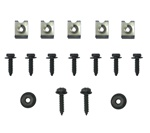 1969 Camaro Dash Instrument Cluster Housing Hardware Screws Set