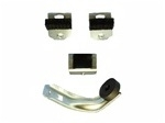 1970 - 1981 Camaro Door Glass Window Guides and Stop Set, 4 Pieces