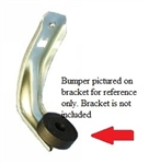 1970 - 1981 Camaro Door Glass Window Stop Rubber Bumper for Lower Stop Bracket