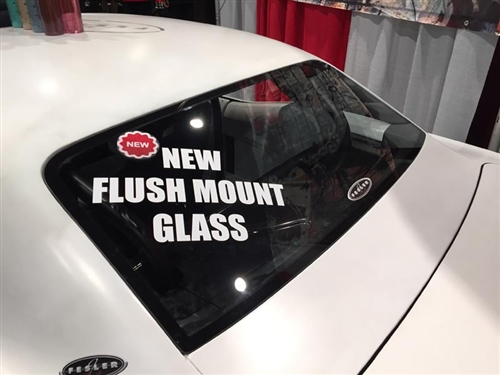 1967 1969 Flush Mount Front Windshield and Rear Back Glass Set
