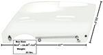 1970 - 1981 Camaro Door Window Glass Kit, Clear, LH Side