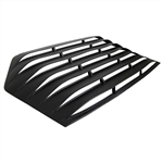 1982 - 1992 Camaro Rear Window Glass Louver Sun Shade, ABS 1 Piece Design