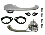 1967 - 1969 Camaro Outside Chrome Door Handles Kit, USA Made