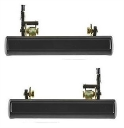 1976 - 1981 Camaro BLACK Exterior Door Handle, Pair LH & RH