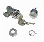 1978 - 1981 Locks Set, Glove Box and Trunk, GM Style Round Headed Keys