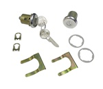1967 - 1968 Camaro Door Locks Set, Original GM Pear Head Style Keys