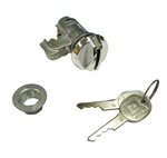 1970 - 1981 Camaro Glove Box Lock, GM Round Headed Keys