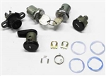 1982 - 1985 Camaro Locks Kit for Doors, Trunk, Rear Stowage and Floor Compartment