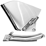 1967 - 1969 Camaro Quarter Window Glass Assembly Kit, Convertible, Clear, RH | Camaro Central