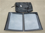 1986 - 1992 Camaro Used T-Tops with Original Storage Bag, Matched Left Hand & Right Hand Complete GM Set