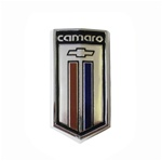 1980 - 1981 Camaro Fuel Door Emblem for Berlinetta, Camaro Bow Tie Shield