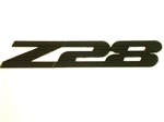 1993 - 2002 Camaro Black Z28 Fender Emblem, Peel and Stick