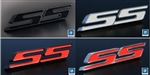 2014 - 2015 Camaro Billet Aluminum SS Rear Tail Panel Emblem Replaces Factory Bowtie, Choice of Color