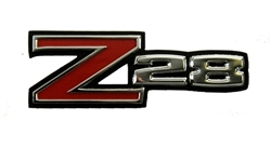 1970 - 1974 Camaro Z28 Fender Emblem, New Tooling