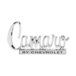 1970 Trunk Deck Lid Emblem, Camaro by Chevrolet, Premium Quality