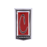 1971 - 1973 Camaro Header Panel Emblem, Made on the Original GM Tooling
