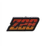 1980 - 1981 Camaro ORANGE Z28 Gas Fuel Door Emblem