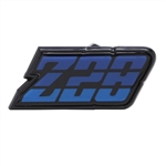 1980 - 1981 Camaro BLUE Z28 Gas Fuel Door Emblem