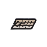 1980 - 1981 Camaro GOLD Z28 Gas Fuel Door Emblem