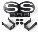 1969 Camaro Super Sport SS 396 Grille Emblem for Rally Sport Grille