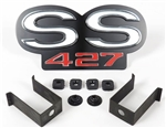 1969 Camaro Super Sport SS 427 Grille Emblem for Rally Sport Grille