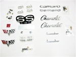 1967 Camaro Emblem Kit for Super Sport and 350 Engine