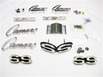 1968 Emblems Set for Super Sport 350 with Standard Grille