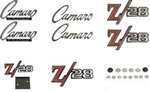 1969 Emblems Set for Z/28