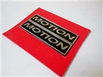 Baldwin Motion Emblem Set