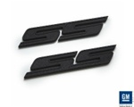 2010 - 2011 Camaro SS Badge Emblems Pair, Black